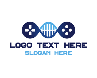 Console - DNA Gaming logo design