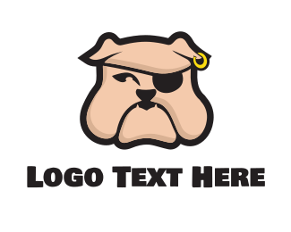 Gang - Pirate Bulldog logo design