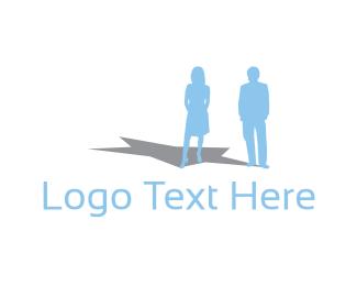 Matrimony - Star Couple logo design