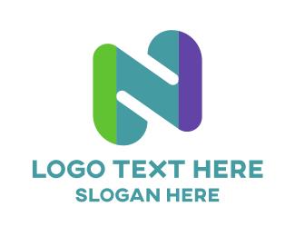 Funky - Funky Letter N logo design