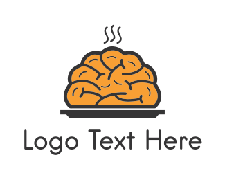 Brain - Brain Food logo design
