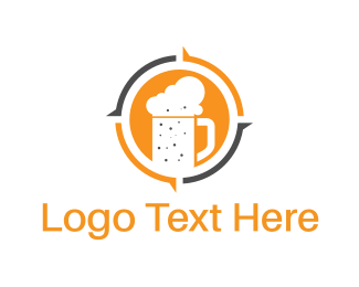 Alcoholic - Beer Mug logo design