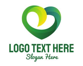 Stroke - Heart Strokes logo design