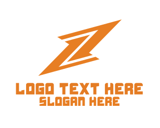Flash - Lightning Bolt logo design