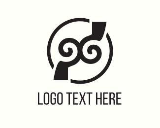 Pirate - Twin Hook logo design