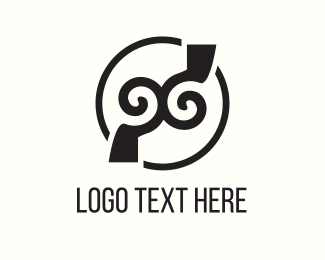 Hypnosis - Twin Hook logo design