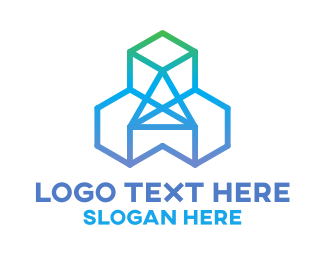 Generic - Diamond Cubes logo design
