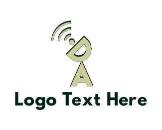 Wireless - Wireless Letters logo design