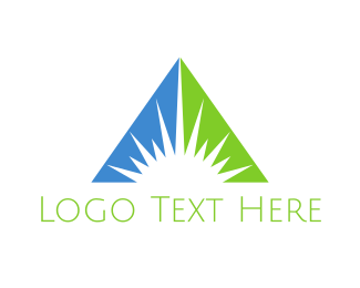 Light - Corporate Sun logo design