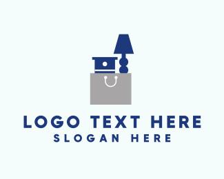 Hand-drawn - Furniture Bag logo design