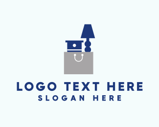 Home Accessories - Furniture Bag logo design