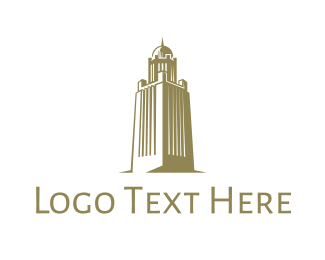 Indian - Gold Arab Tower logo design