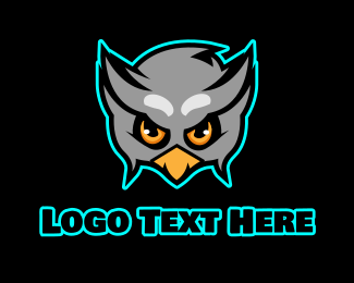 Twitch - Angry Owl Gaming logo design
