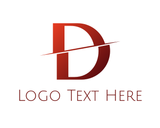 Split - Split D logo design