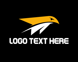 Airplane - Bird Airplane logo design