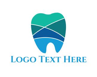 Mosaic - Tooth Mosaic logo design