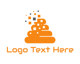 Hive - Orange Beehive logo design