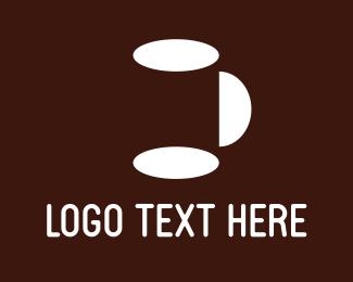 Coffee Cup - White Mug logo design