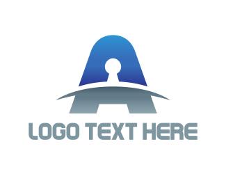 Keyhole - Keyhole Letter logo design