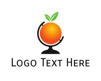 Citrus - Orange World logo design