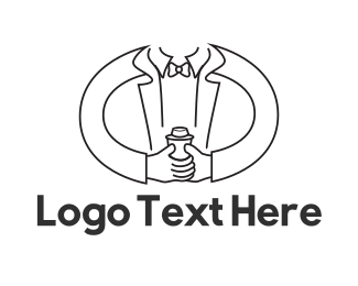 Catering - Mixologist Bartender logo design