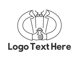 Stylish - Mixologist Bartender logo design