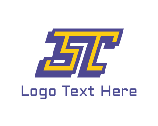Sports - ST Sport Letter logo design