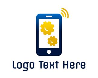Smartphone - Phone Technician logo design