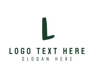 Letter J - Green Anaglyph logo design