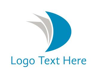 Page - Blue Book logo design