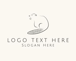 Teeth - Black Beaver logo design