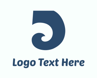 Trunk - Blue Wave logo design