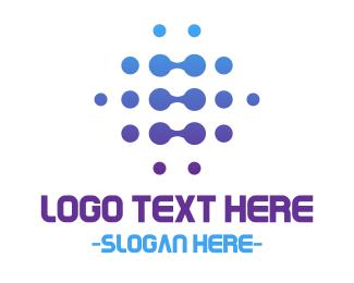Esports - Connection Dots logo design
