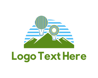 Outdoor - Balloon Park logo design