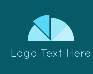 Analysis - Blue Chart logo design