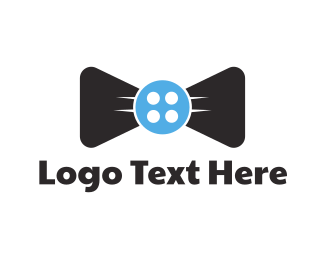 Tailor - Button Tie logo design