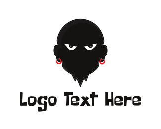 Gang - Evil Man logo design
