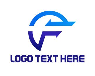 Gaming - Blue F Gaming logo design
