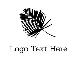Fern - Black Palm logo design
