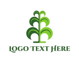Grain - Green Maize logo design