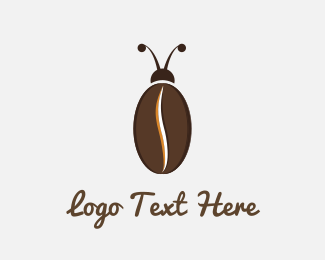 Cafeteria - Coffee Bug logo design
