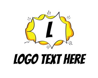 Animation - Comic Cloud logo design