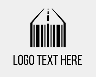 Highway - Barcode & Street logo design