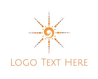 Tribal - Tribal Sun logo design