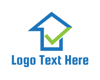 Upload - Blue House Approval logo design
