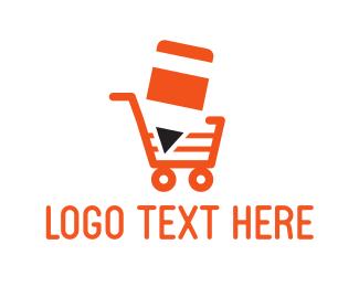 Cart - School Market logo design