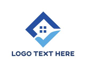 Check - Check Box House logo design