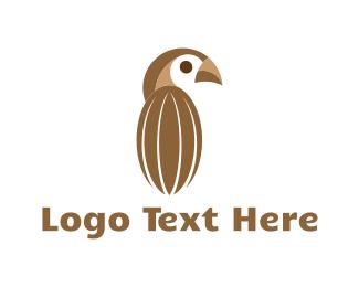 Toucan - Cocoa Bird logo design