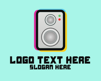 Blast - Boom Box Logo logo design