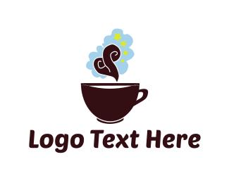 Aroma - Coffee Aroma logo design